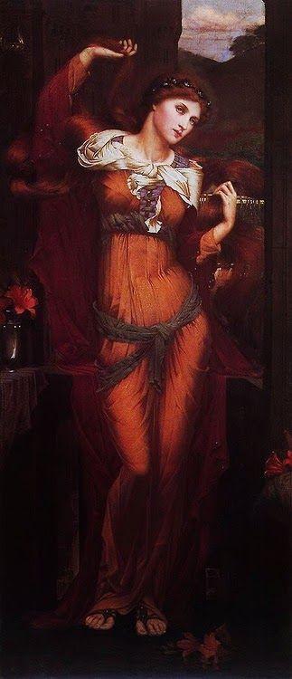 Morgan le Fay, John Roddam Spencer Stanhope (1880)