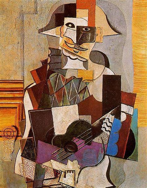 Harlequin - Picasso 1918