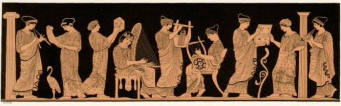 The Nine Muses of Antiquity