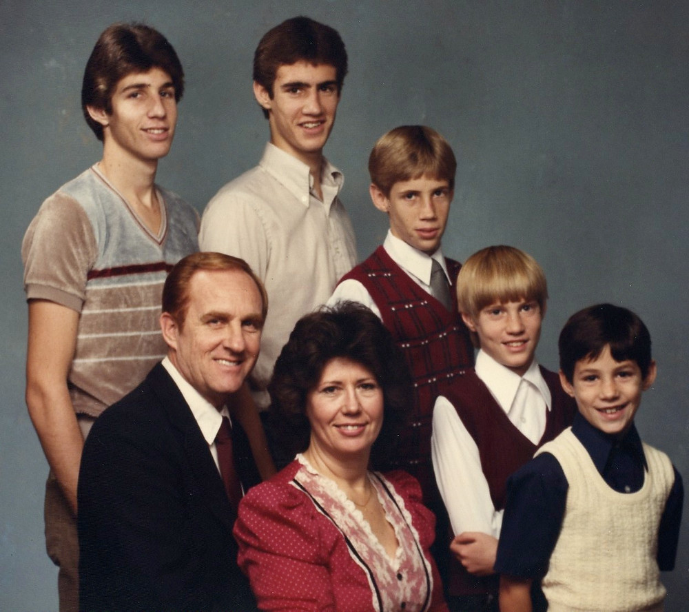 The Barker Family 1984 -- Josh is the 4th Son