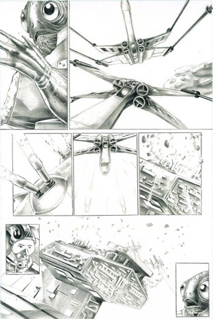 Star Wars Comic Page 3