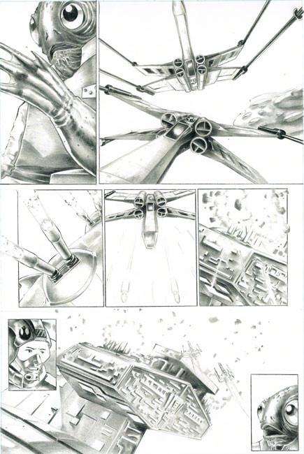 Star Wars Comic Page 3