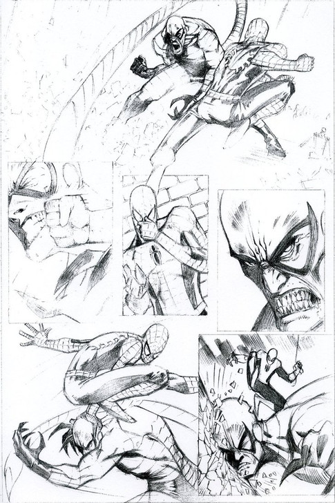 Spiderman vs. Scorpion Page 2