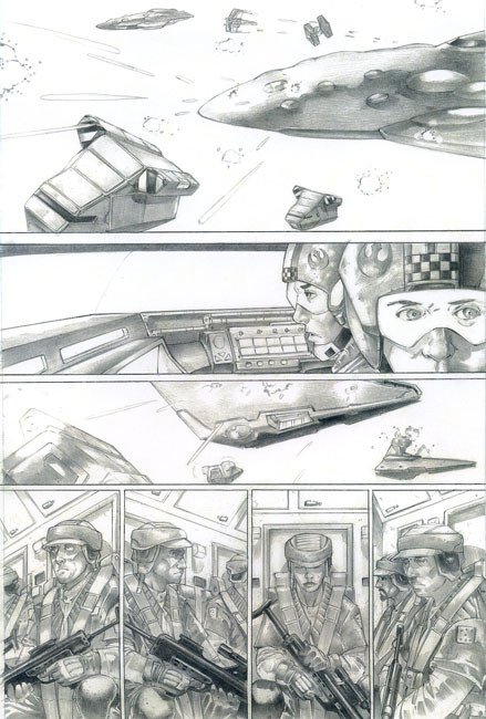 Star Wars Comic Page 5