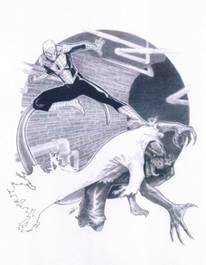 Spiderman vs. Lizard