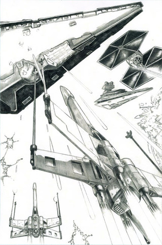 Star Wars Comic Page 1