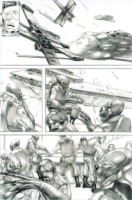 Star Wars Comic Page 2