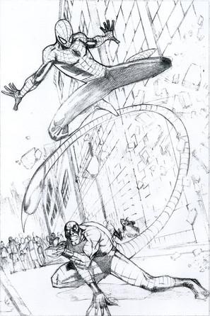 Spiderman vs. Scorpion Page 1