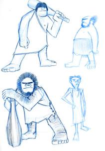Cave Men Concepts