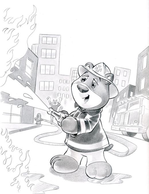 Fireman Bear