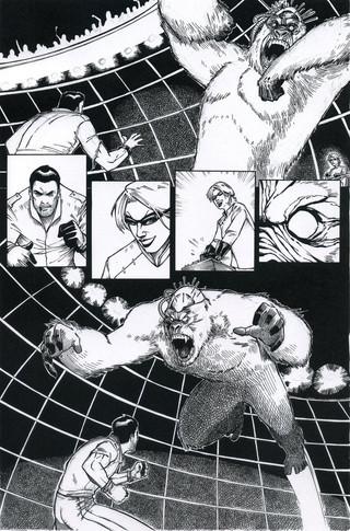 Ape Fight Page 1