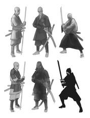 Samurai Poses