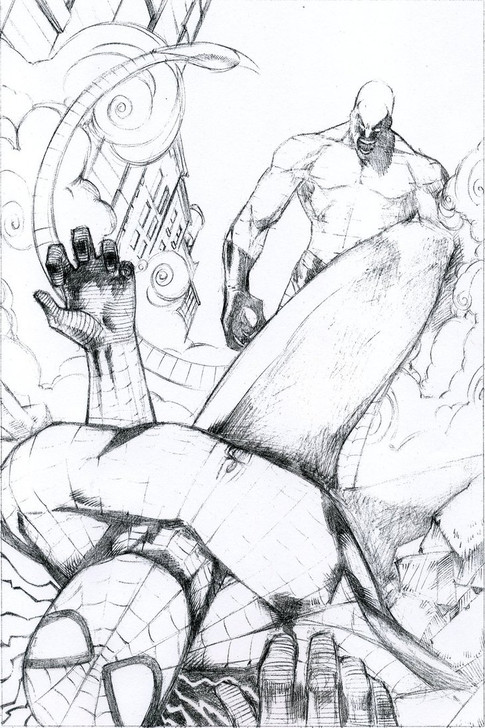Spiderman vs. Scorpion Page 5