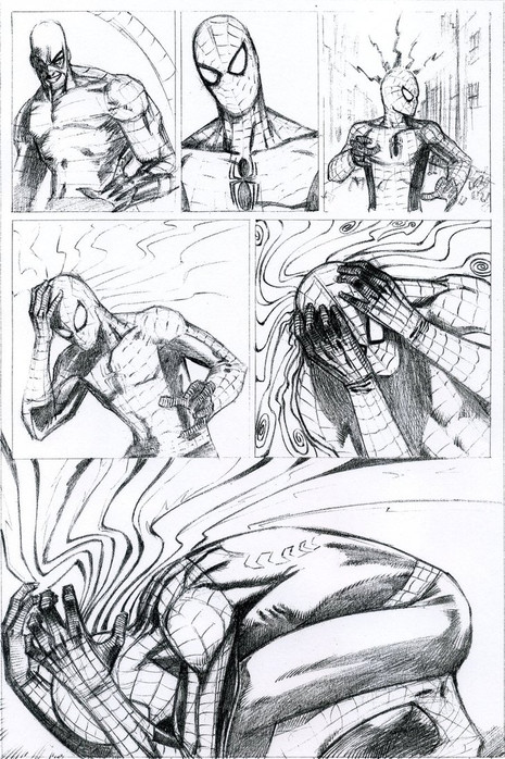 Spiderman vs. Scorpion Page 4