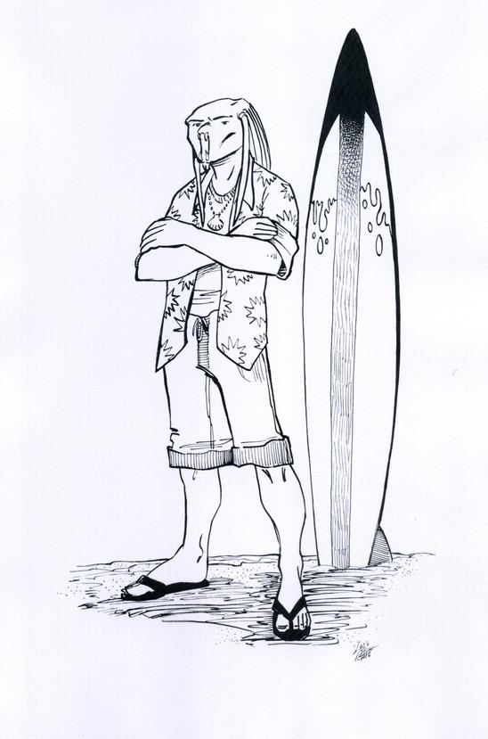 Bill Kowalski, Surfer