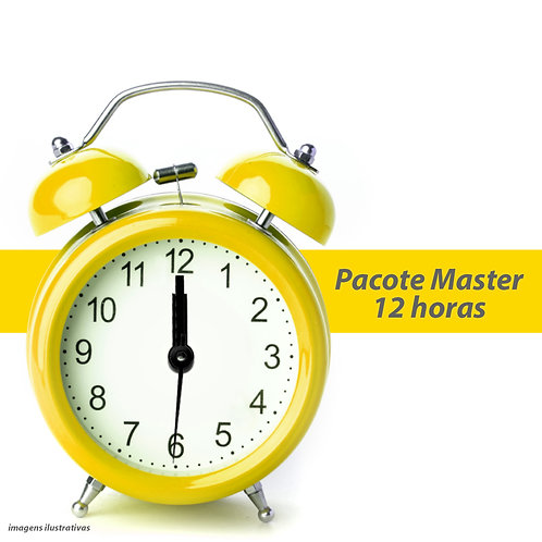 Pacote Master - 12 Horas