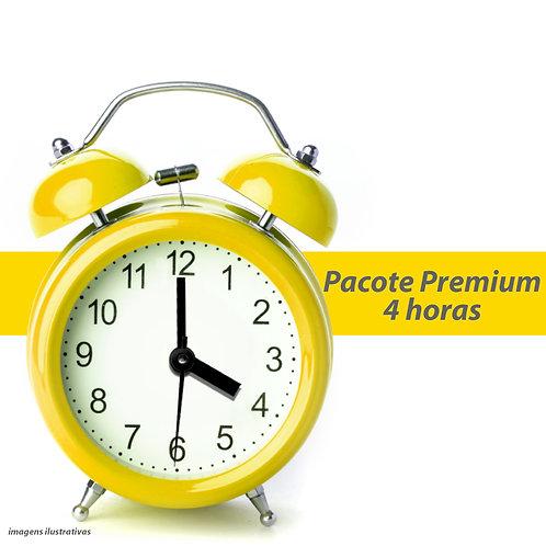 Pacote Premium - 4 Horas