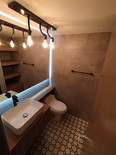 Baño diseño industrial