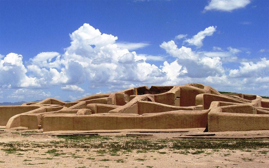 Zona arqueológica de Paquime, México