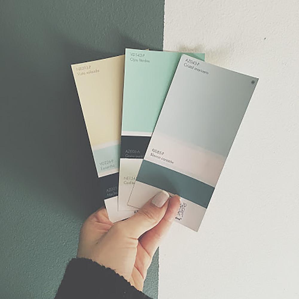 Paleta de colores en diseño interior