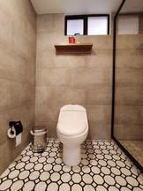 Baño baldosa hidraúlica