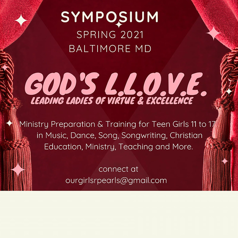 God's Leading Ladies of Virtues & Excellence (LLOVE) Summit