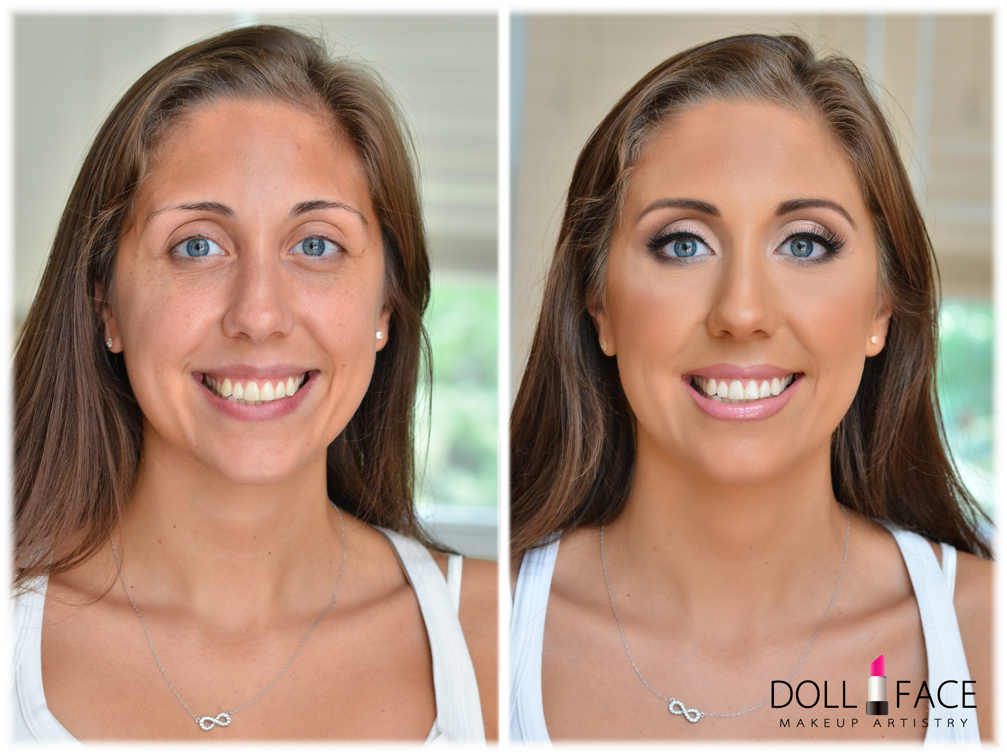 Makeup Artist Before and After photo