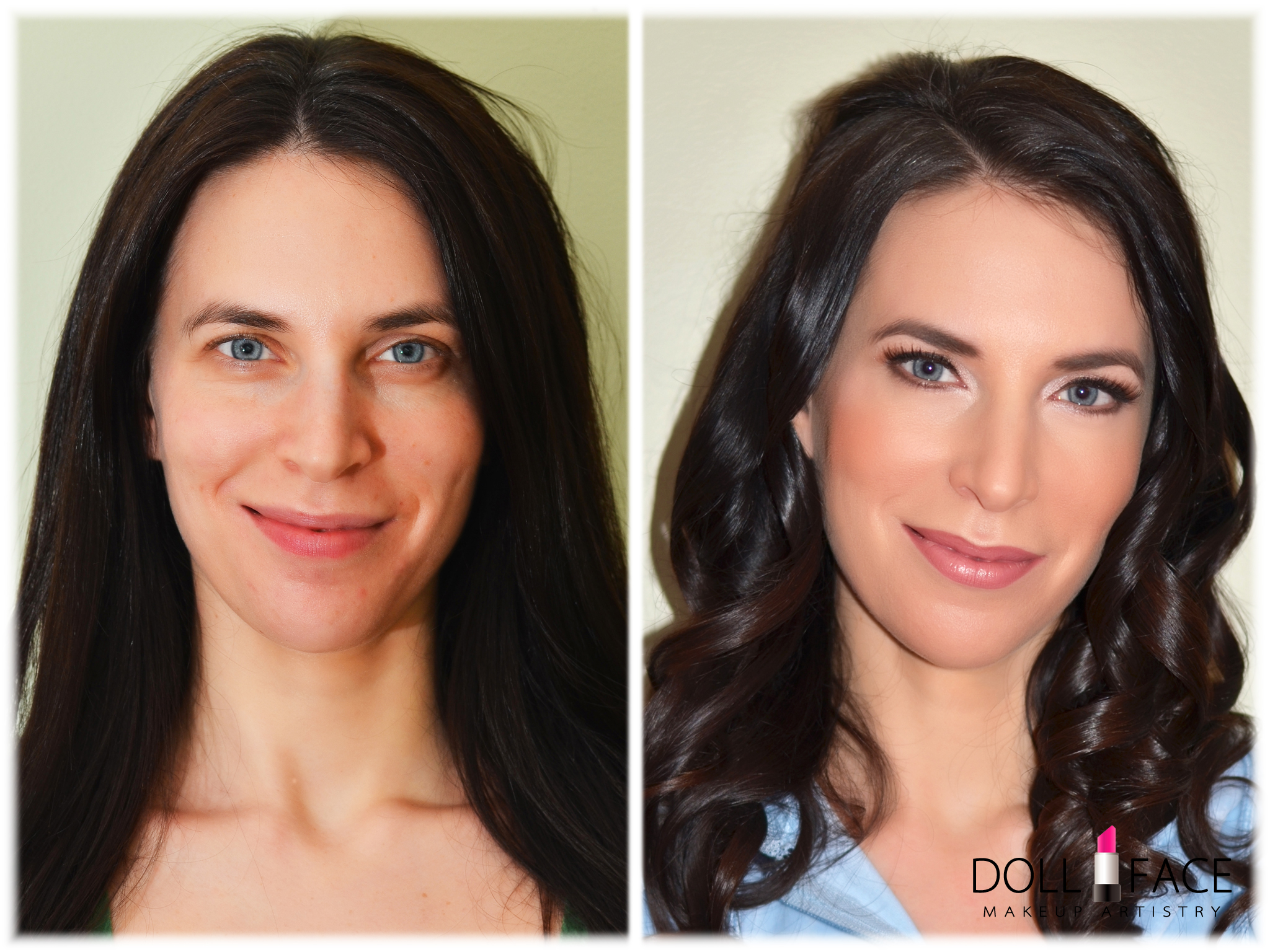 sexy makeup before and after