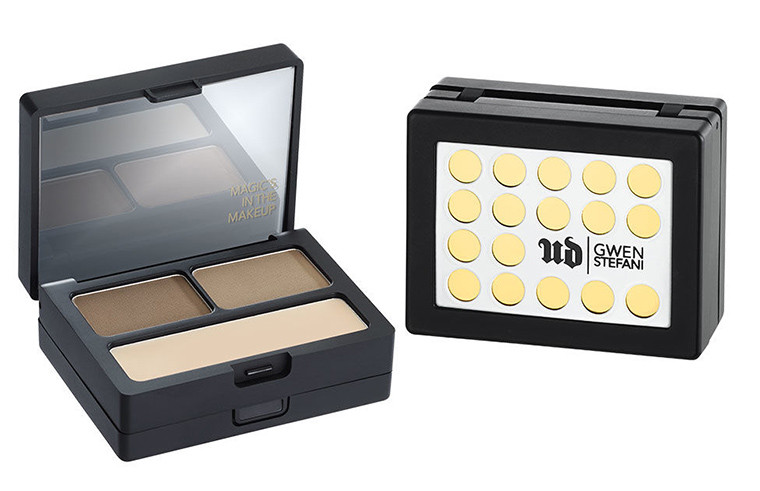 gwen stefani urban decay makeup collection eyebrow brow box