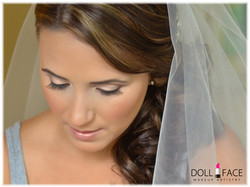 Bride on her Wedding day close up
