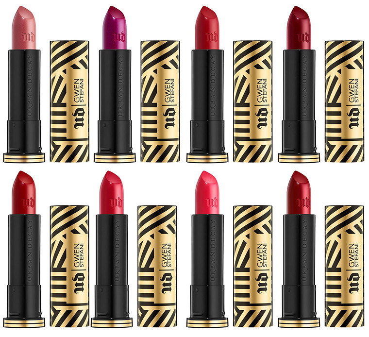 urban decay makeup collection with gwen stefani lipstick limited edition