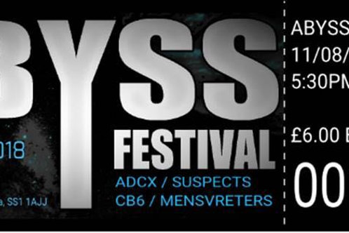 THE ABYSS FESTIVAL TICKETS