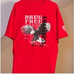 Drug Free Awareness T-shirt