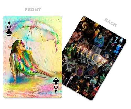 Body Paint Portfolio Deck of Poker Cards
