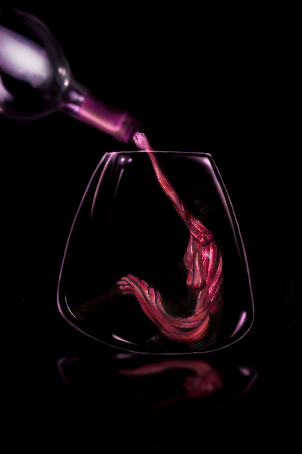 POUR THE WINE
