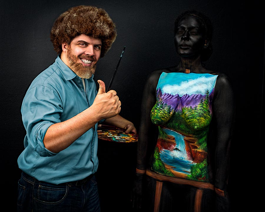 THE JOY OF BODY PAINTING