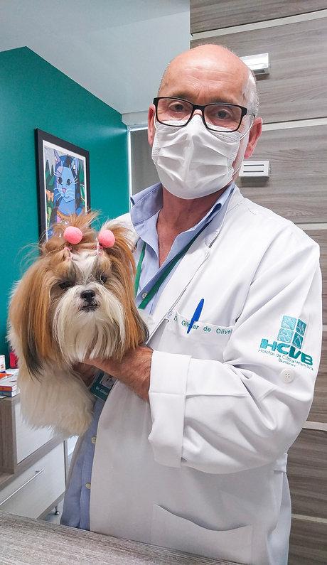 Dr. Gilmar e Paciente
