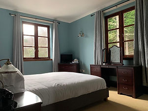 Woodland view room with double bed