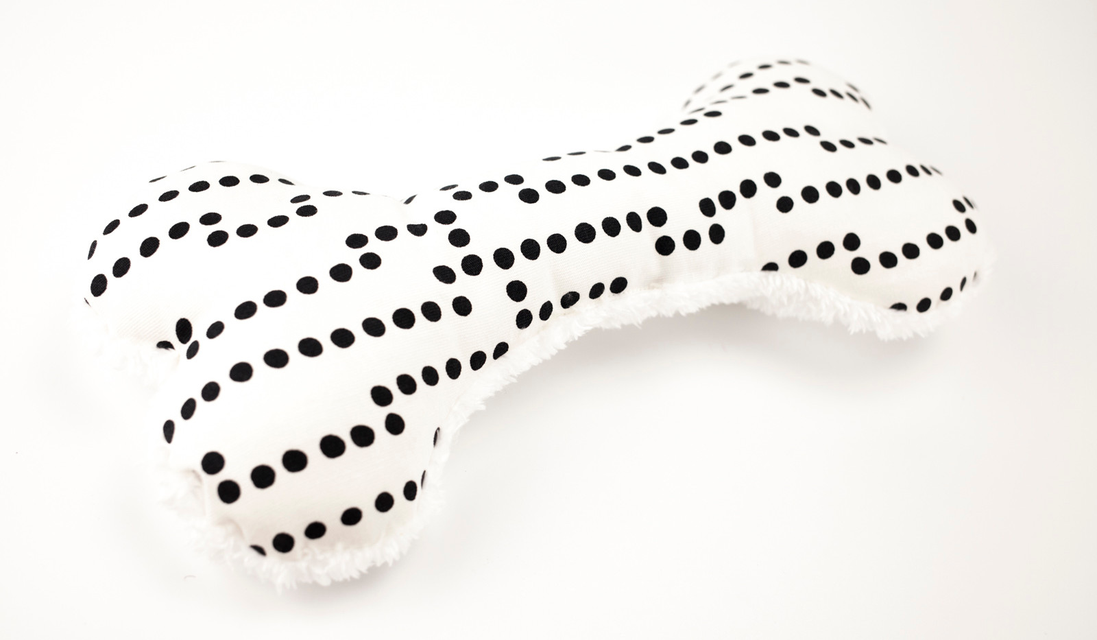 Bone Toy - Black Dot