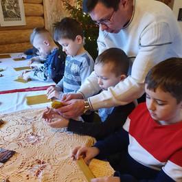 Рождественская поездка на хутор Tagavälja