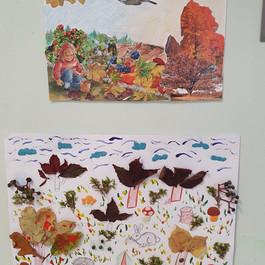 "Конкурс рисунков ""Осенних красок хоровод"""