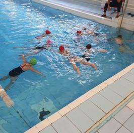 Уроки плавания