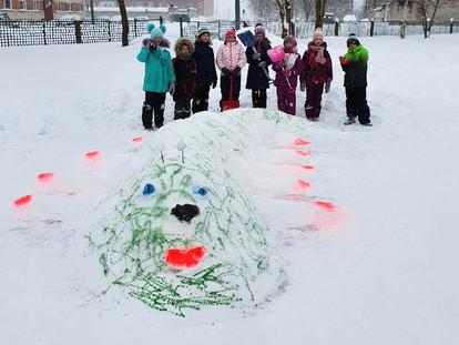 Фестиваль снежных фигур онлайн