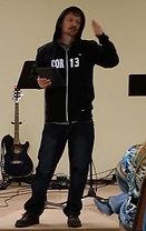 New Life Pastor Clayton Augustine