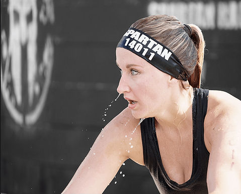 Obstacle Course Race Woman
