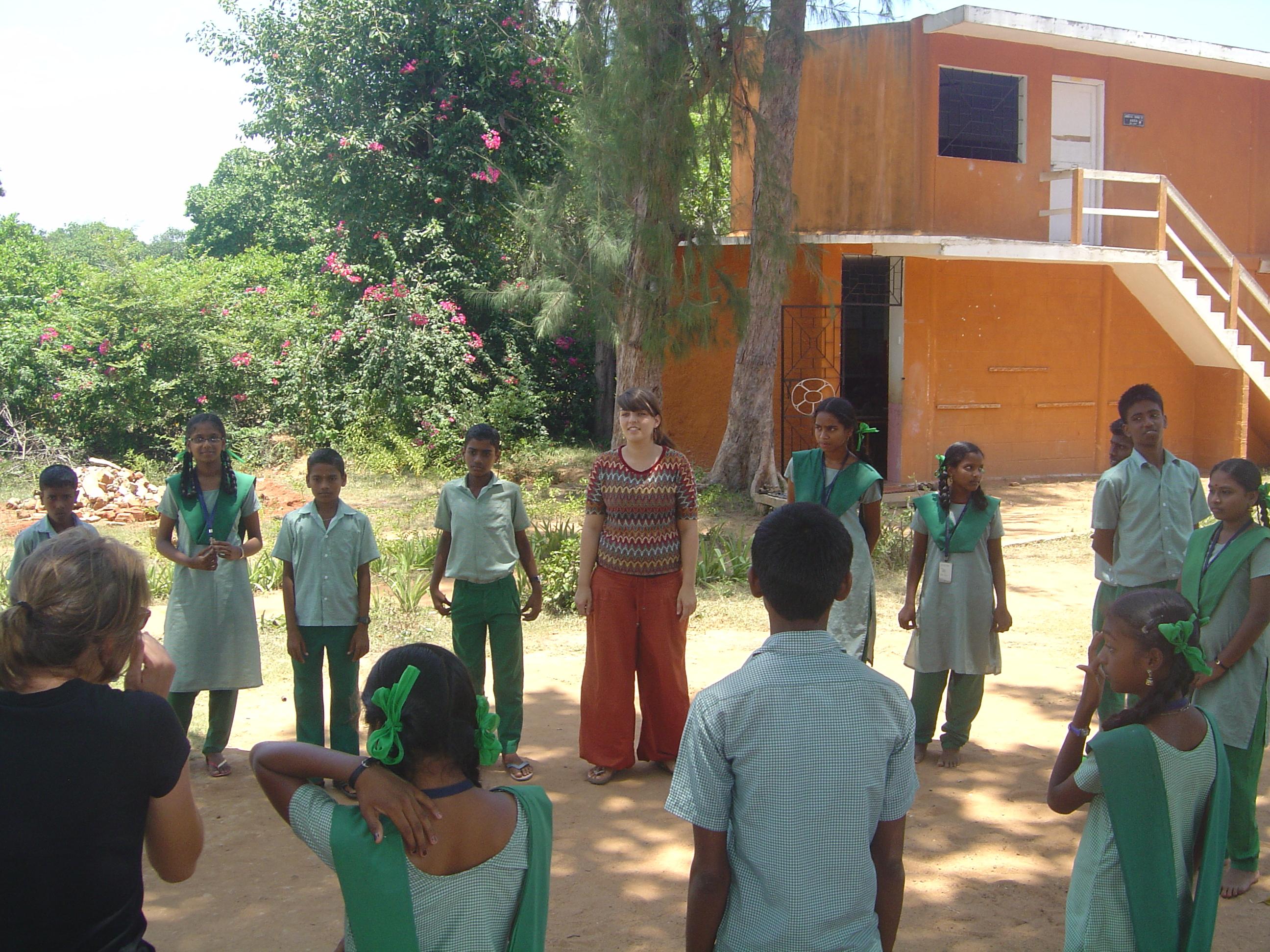 Volunteering | Aikiyam School, Auroville
