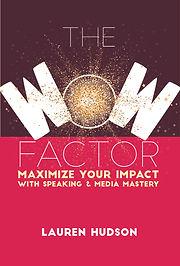 Lauren Hudson WOW Factor Book Front Cove