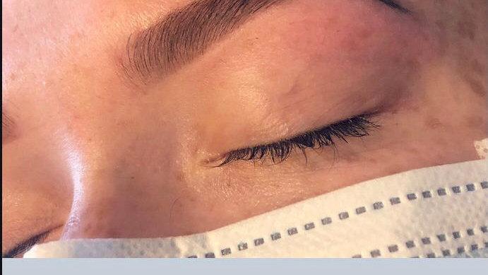 7 Step Definition Eyebrows