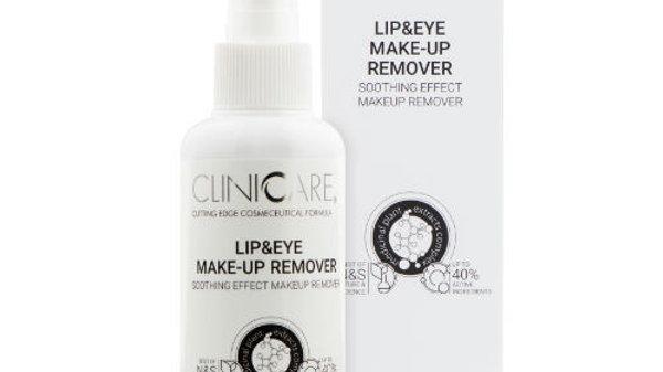 CLINICCARE Lip & Eye Make-Up Remover 100ml