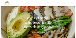 Website - The Salad Shop